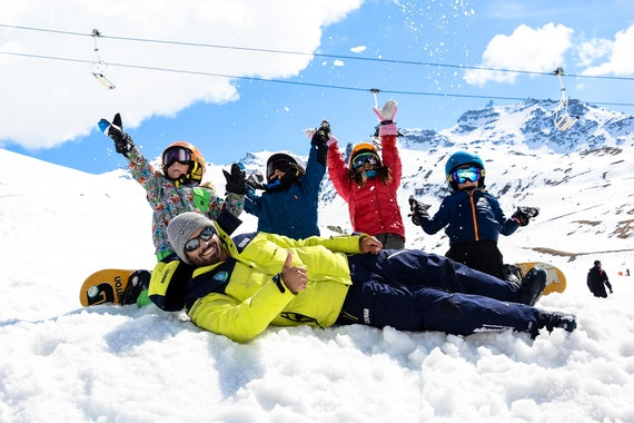 Snowboarding Lessons for Kids