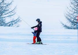 Leçons de ski privées pour enfants - débutants  avec Ski school Ski Zenit Saas-Fee