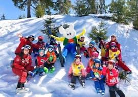 Skilessen voor kinderen - licht gevorderd met Swiss Ski School Crans-Montana