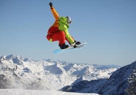 Cours de snowboard - Avancé avec Skischule Fischer Oetz-Hochoetz