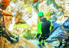 Canyoning sportif à Haiming - Auerklamm avec Wiggi Rafting Haiming