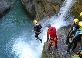 Canyoning facile à Reutte - Planseeablauf avec MAP-Erlebnis Blaichach