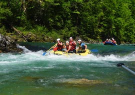Rafting sportif à Palfau - Wildalpen avec Deep Roots Adventures Palfau