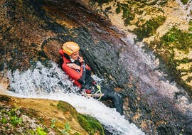 Canyoning facile à Palfau avec Deep Roots Adventures Palfau