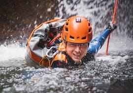 Canyoning expert à Palfau avec Deep Roots Adventures Palfau