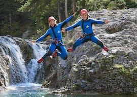 Canyoning sportif à Haiming - Alpenrosenklamm avec faszinatour Haiming