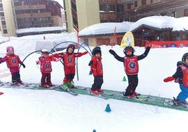 """Cours de ski Enfants """"Piou Piou"""" (3-4 ans) - Vacances avec ESF La Plagne"""