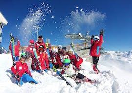 Cours de ski Ados (13-18 ans) - Vacances - Matin avec ESF La Plagne