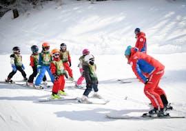 Cours de ski Enfants (5-12 ans) - Vacances - Matin avec ESF La Plagne