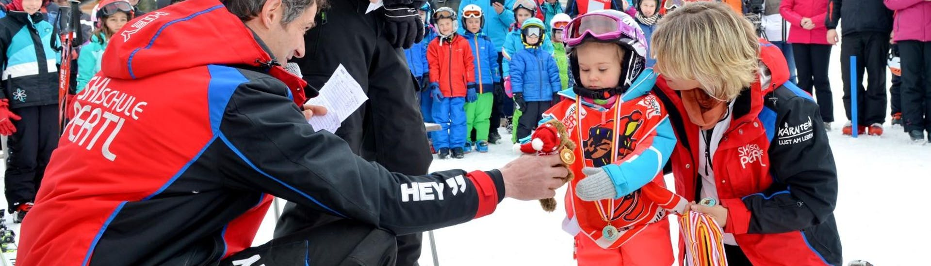 Kids Ski Lessons (3-5 y.) for All Levels with Skischule Pertl Turracher Höhe - Hero image