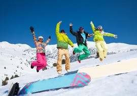 Snowboarding Lessons for Kids & Adults of All Levels with Adrenaline Ski School Verbier
