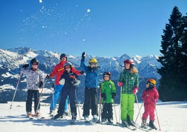 Kids Ski Lessons (5-14 y.) for All Levels with Erste Skischule Bolsterlang