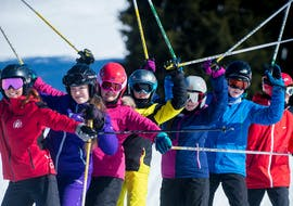 Private Ski Lessons for Kids (from 5 y.) of All Levels with Lovell Ski Camps Gstaad-Saanen