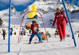 Cours de ski Enfants dès 3 ans pour Débutants avec École Suisse de Ski de Saas-Grund