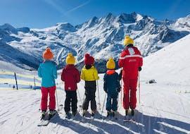 Cours de ski Enfants pour Tous niveaux avec École Suisse de Ski de Saas-Grund