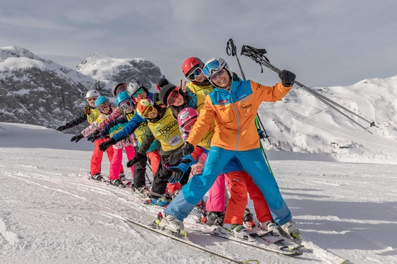 Kids Ski Lessons (4-12 y.) for All Levels