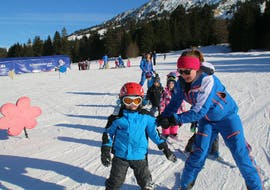 Kids Ski Lessons (3-12 y.) for All Levels with Ski & Snowboard School Ostrachtal
