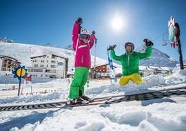 Private Ski Lessons for Kids of All Ages avec skiCHECK Kühtai - GERBERSPORTS