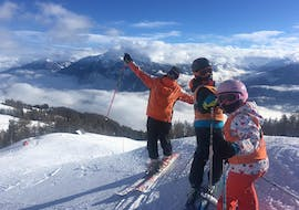 Kids Ski Lessons (6-12 y.) for All Levels - Max 5 - Montana with Swiss Mountain Sports Crans-Montana