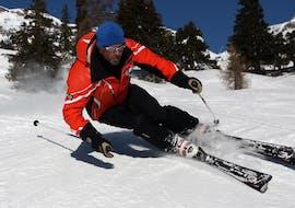 Privé skilessen voor volwassenen voor alle niveaus met Swiss Mountain Sports Crans-Montana