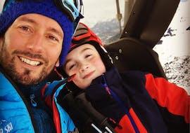 Moniteur de Ski Privé pour Enfants - Tous Ages & Niveaux avec Mickael Roux