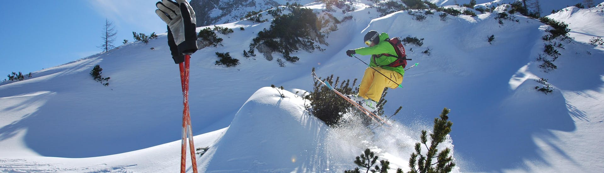 Freeride Private for Adults avec Skischule Gosau - Hero image