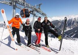 Cours particulier de ski Adultes pour Tous niveaux avec Snowacademy Gastein