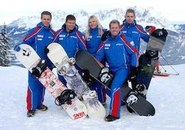 Cours de snowboard dès 10 ans - Premier cours avec Schischule Wilder Kaiser