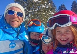Cours particulier de ski Enfants (dès 3 ans) avec Ecole de Ski 360 Les Gets