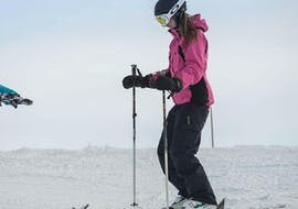 Adults are taking Private Ski Lessons for Adults - Low Season with Starski Grand Bornand.