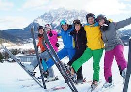 Cours de ski Adultes - Premier cours avec Tiroler Skischule Lermoos Pepi Pechtl