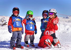 "Kids Ski Lessons ""Mini Kids"" (3-5 y.) - Nendaz met Neige Aventure Nendaz & Veysonnaz"