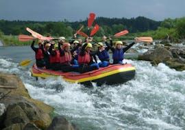Rafting on the Iller River in Allgäu - All in one Raft avec Spirits of Nature Allgäu