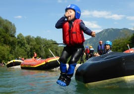 Rafting on the Iller River in Allgäu for Kids & Families avec Spirits of Nature Allgäu