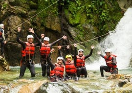 Canyoning in Central Valais with Valrafting Valais
