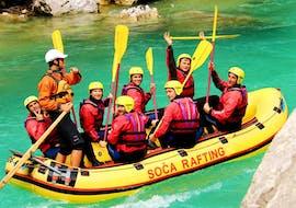 Rafting auf der Soča für Gruppen (ab 10 Personen) mit Soča Rafting