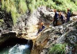 Klassisches Canyoning in der Sušec Schlucht bei Bovec mit Soča Rafting