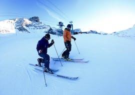 Cours particulier de télémark - Avancé avec Ski school Ski Zenit Saas-Fee
