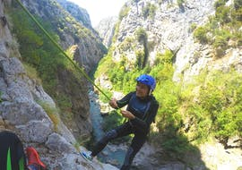 Canyoning in the Cetina River near Omiš - Extreme Tour with Dalmare Travel Agency Omiš