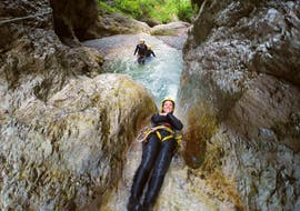 Canyoning in the Sušec Gorge in Soča Valley mit TOP Rafting Bovec