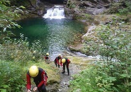 Canyoning sportif à Campertogno - Rio Laghetto avec Eddyline - The River Experience Valsesia