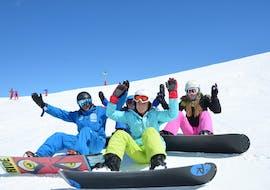 Premier Cours de snowboard (dès 10 ans) avec European Ski School Les Deux Alpes