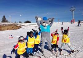 Cours de ski Enfants (4-6 ans) - Vacances avec ESI La Clusaz