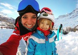 Cours particulier de ski Enfants pour Tous niveaux avec Ride'em Ski School Breuil-Cervinia
