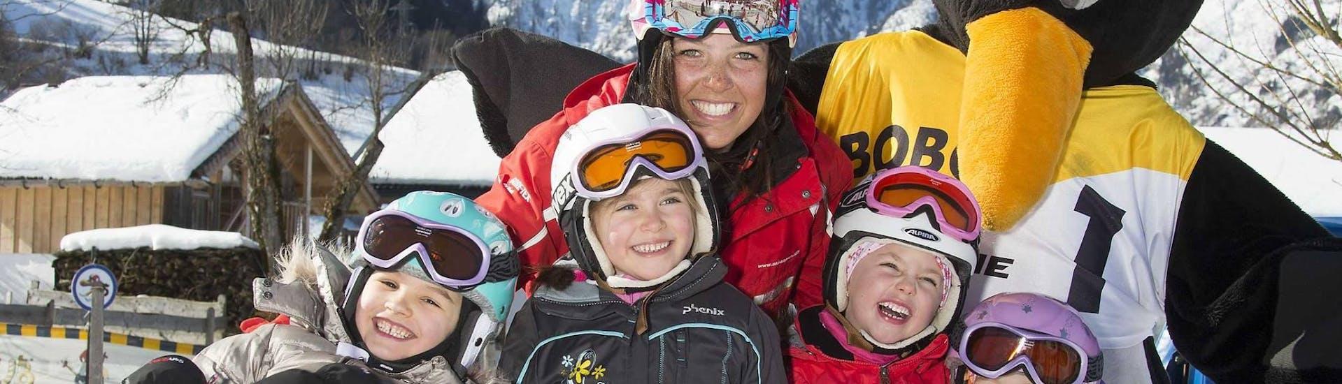 """Skilessen """"All-In-One"""" (4-15 jaar) - Beginners met Ski Dome Viehhofen - Hero image"""