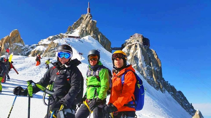 Private Off-Piste Skiing Lessons for Advanced Skiers