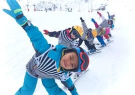 """Cours de ski Enfants """"Souris"""" (4-6 ans) avec ESI La Toussuire"""