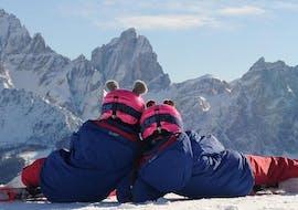 Cours de ski Enfants dès 2 ans - Premier cours avec Scuola di Sci e Snowboard Monte Elmo