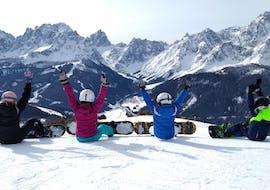 Privé snowboardlessen voor alle niveaus met Scuola di Sci e Snowboard Monte Elmo