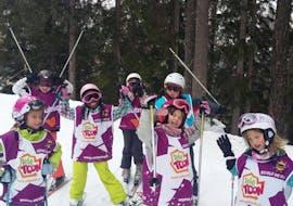 Cours de ski Enfants (5-17 ans) pour Débutants avec ESI Number One Ovronnaz